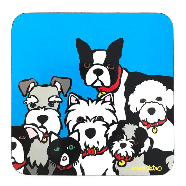 SALE! Dog Group Coaster