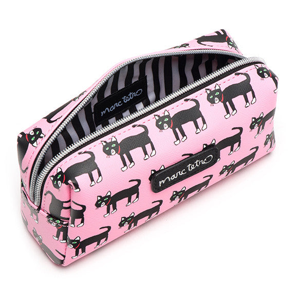 Cats Cosmetic Case - Small