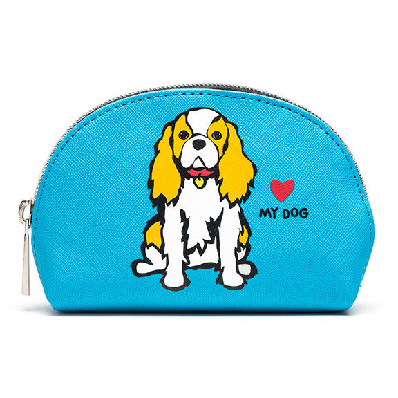 CAVALIER KING CHARLES COSMETIC CASE - MINI[marctetro]