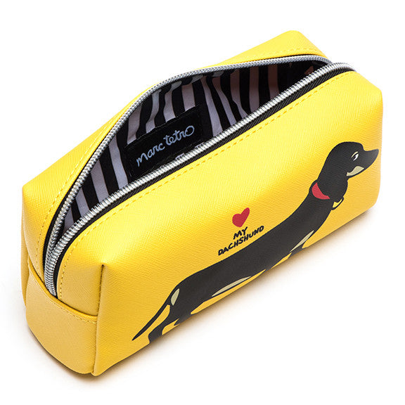 Dachshund Cosmetic Case- Small