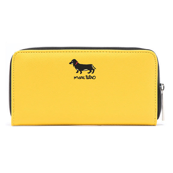 Large Zipper Wallet - Dachshund