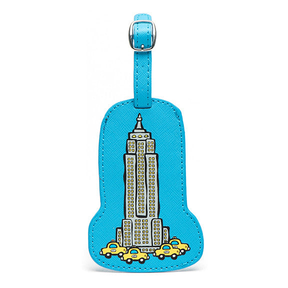 Empire State Building Luggage Tag