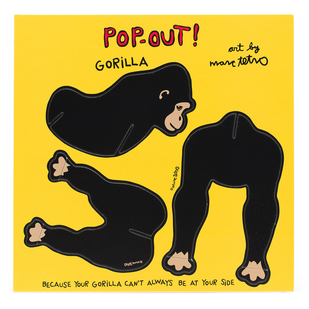 Gorilla Pop-Out!