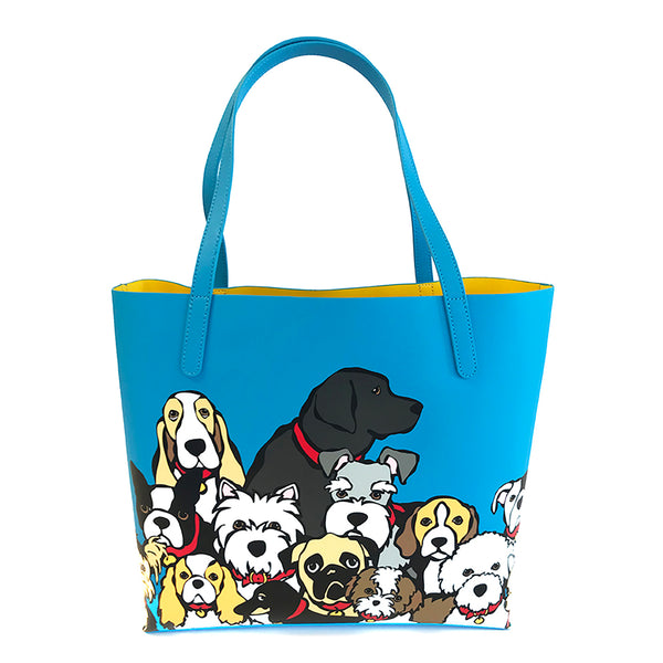 Dog Group Tote Bag