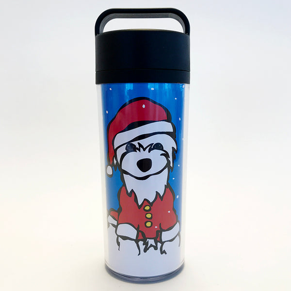 SALE! Holiday Westie Tumbler