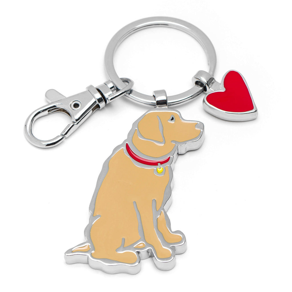 Tan Lab Keyring