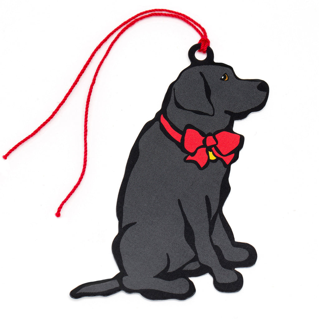 Black Lab Gift Tags