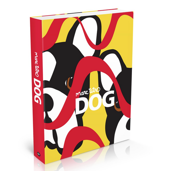 SALE! Personalized Marc Tetro DOG Art Book