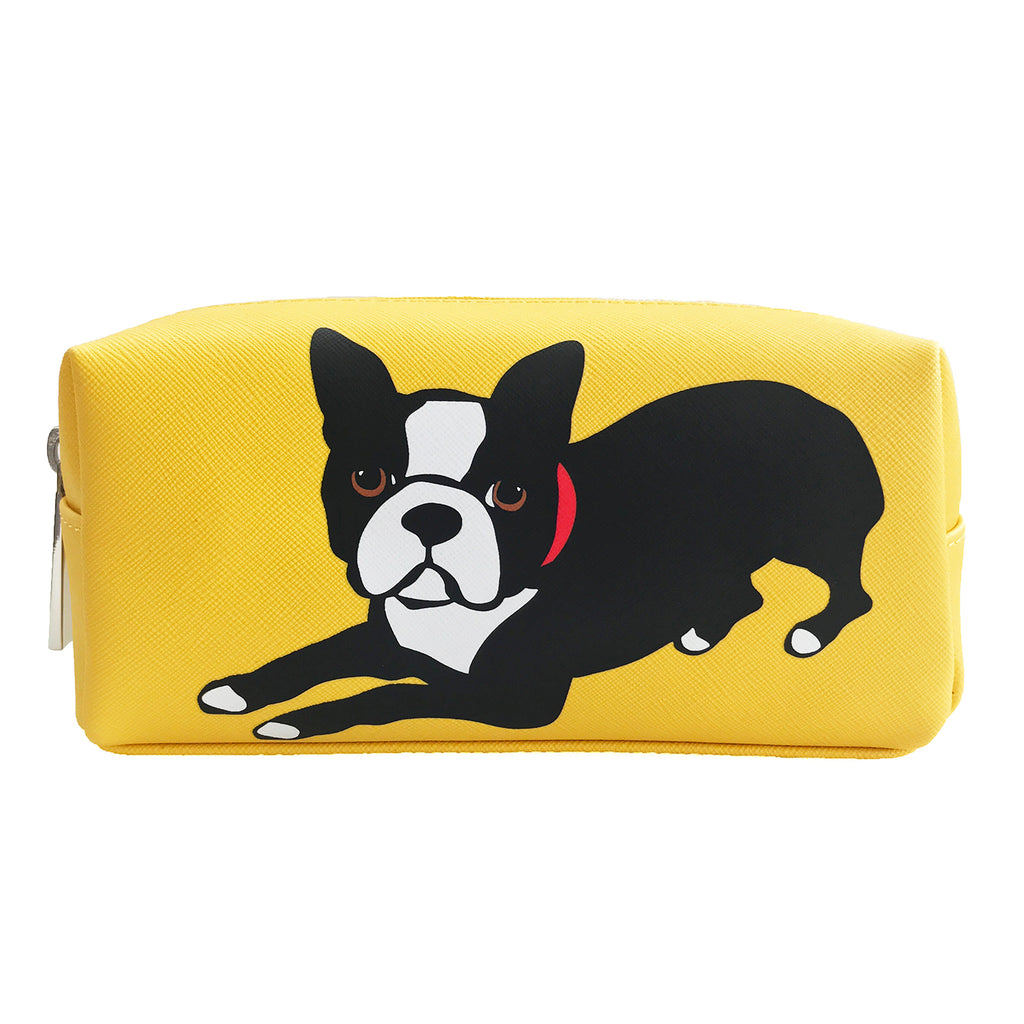 Boston Terrier Cosmetic Case - Small