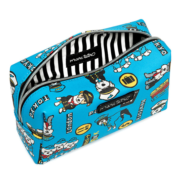 Travel Pattern Cosmetic Case - Large