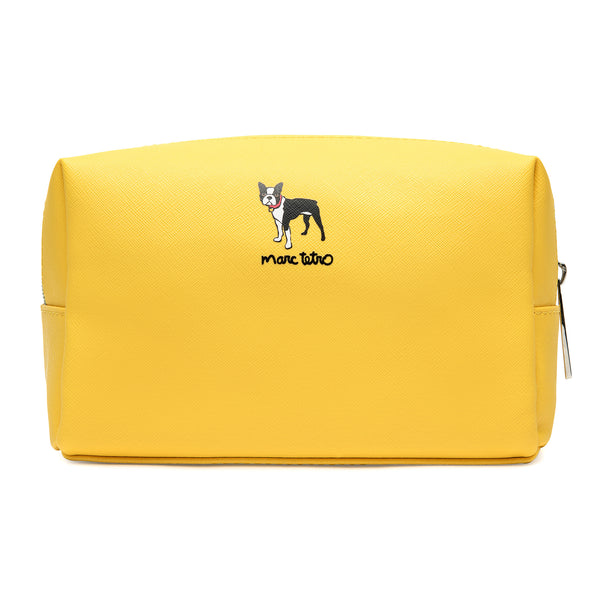 Boston Terrier Cosmetic Case - Large