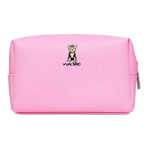 Yorkie Cosmetic Case- Large