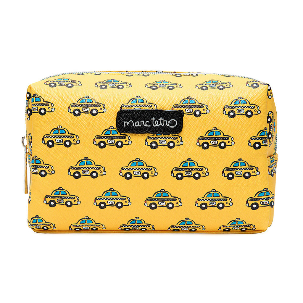 NYC Taxis Cosmetic Case - Large