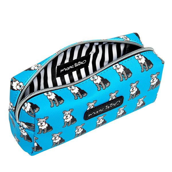 Schnauzers Cosmetic Case- Small
