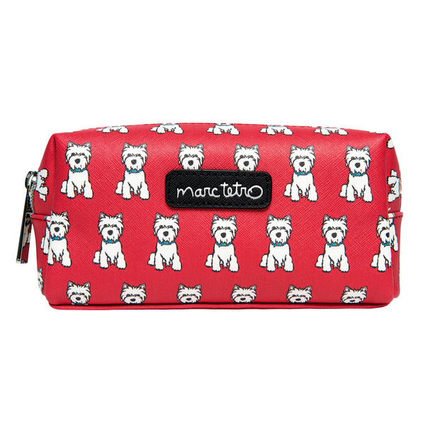 Westies Cosmetic Case - Small