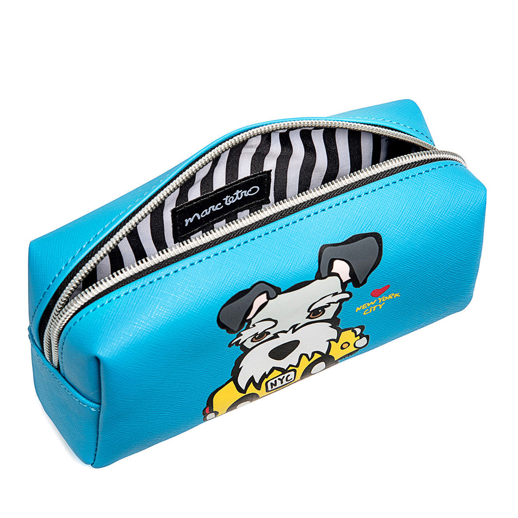 NYC Schnauzer Cosmetic Case - Small