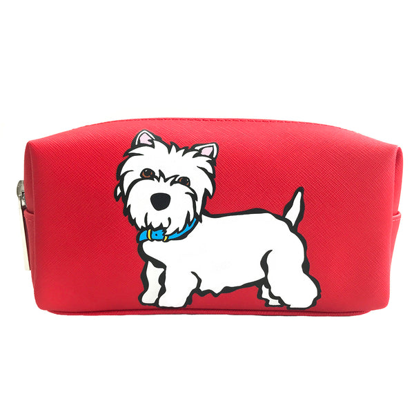 Westie Cosmetic Case - Small
