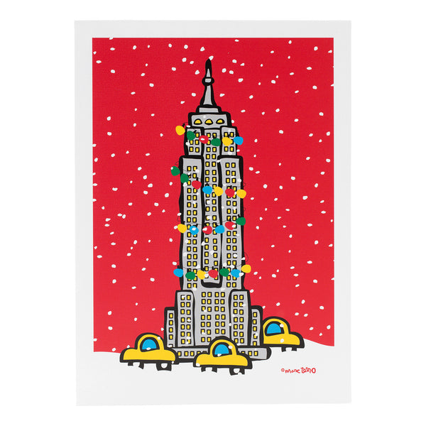 NYC Empire State Building Holiday Cards