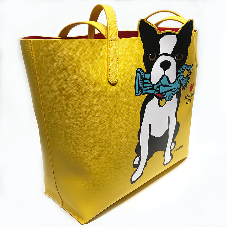 SALE! NYC Boston Terrier Tote Bag
