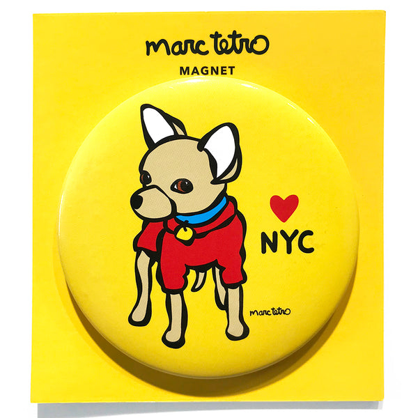 NYC Chihuahua Magnet