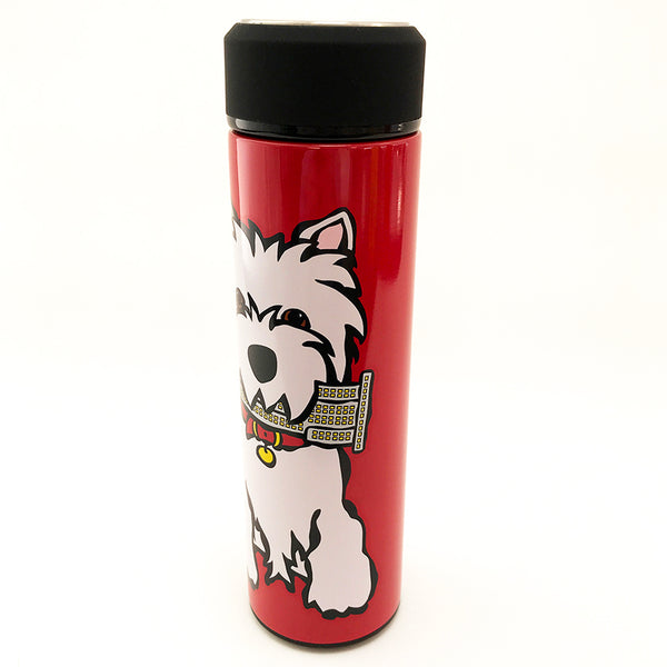 SALE! NYC Westie Vacuum Insulated Water Bottle