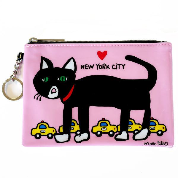 NYC Cat Zip Pouch