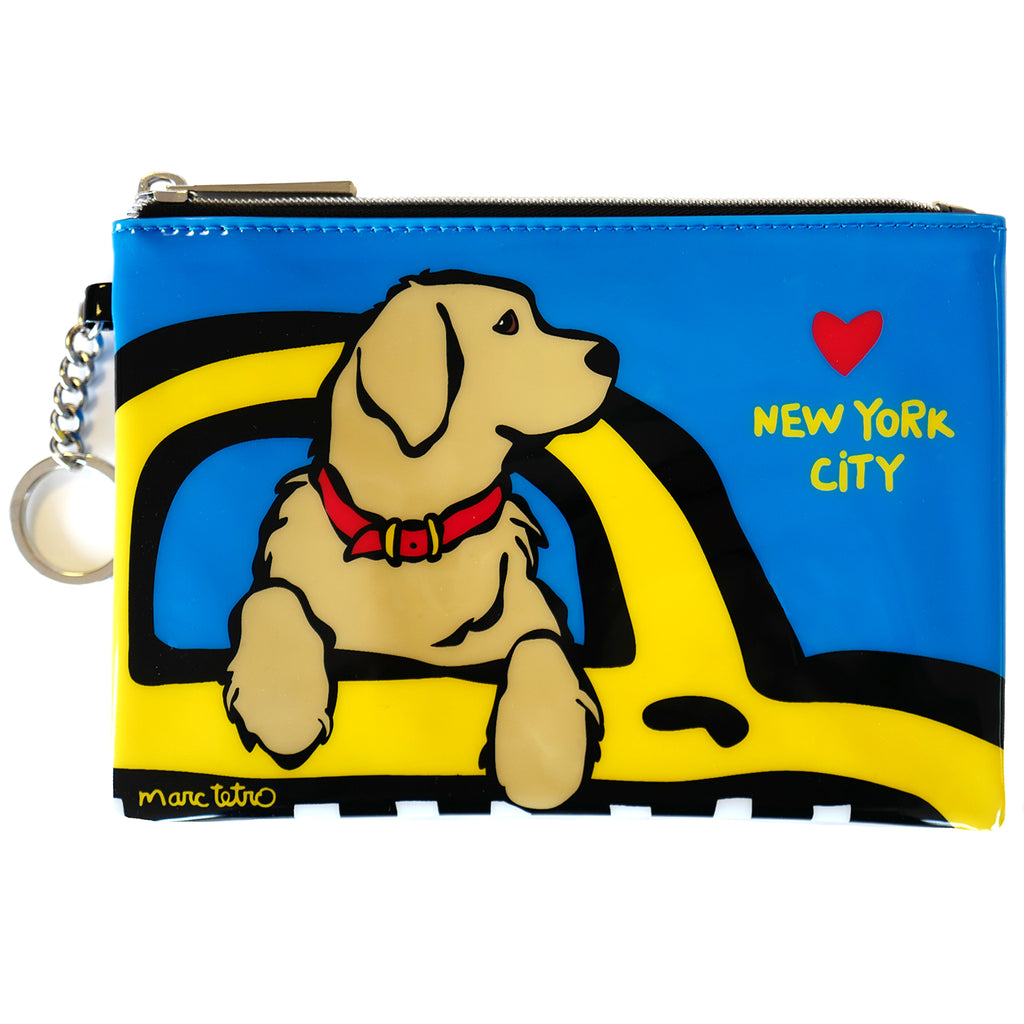 NYC Retriever Zip Pouch