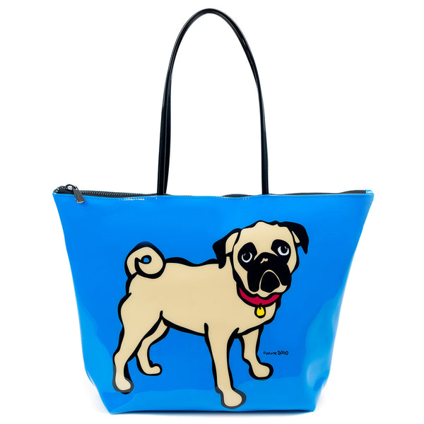 SALE! Pug Zipper Tote Bag