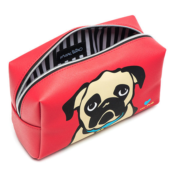 Pug Cosmetic Case - Large