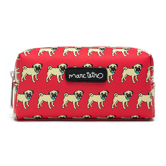 Pugs Cosmetic Case - Small