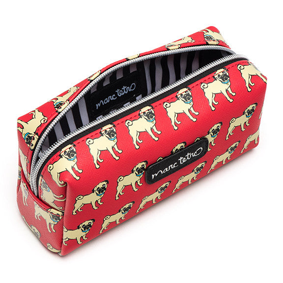 SALE! Pugs Cosmetic Case - Small