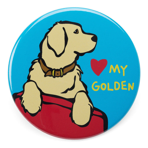 Love my Golden Retriever Magnet