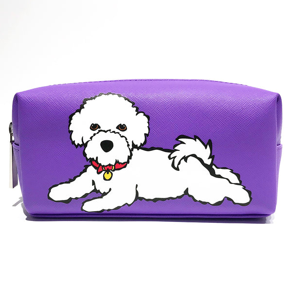 SALE! Bichon Cosmetic Case - Small