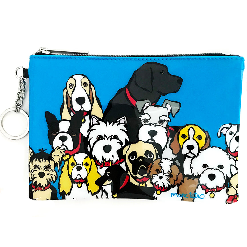 NYC Dog Group Zip Pouch