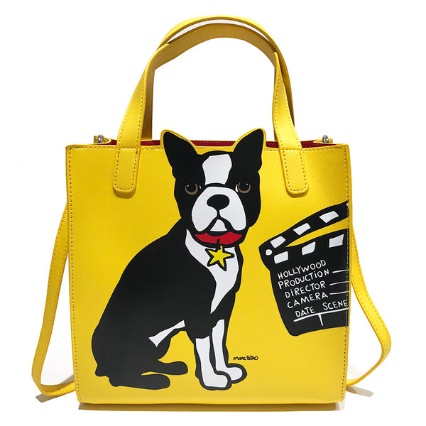 SALE! HW Boston Terrier Crossbody Tote