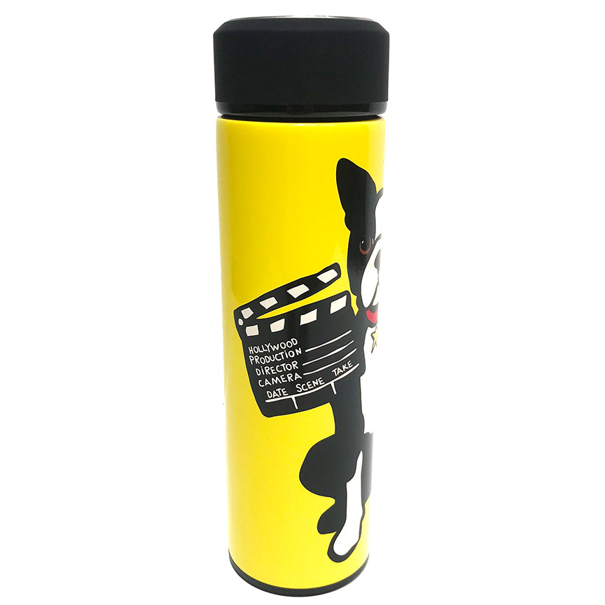 HW Boston Terrier Vacuum Insulated Water Bottle