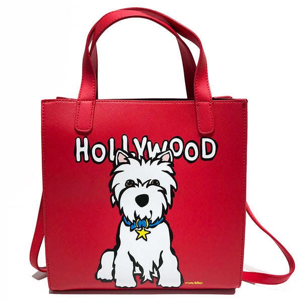 SALE! Westie HW Crossbody Tote