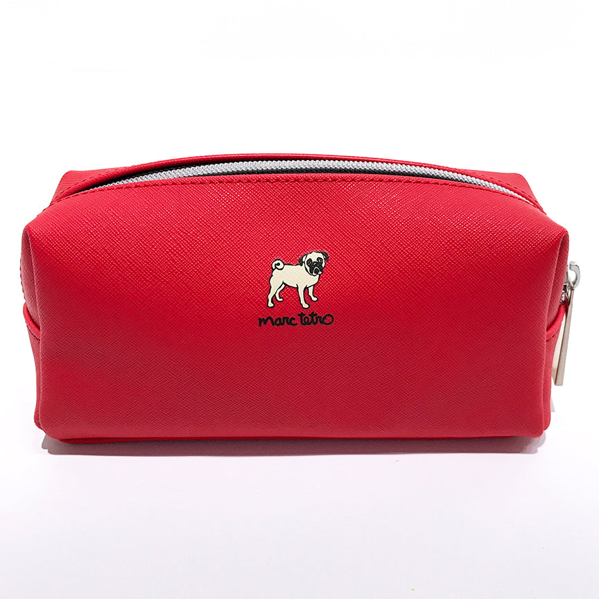 SALE! Los Angeles Pug Cosmetic Case - Small