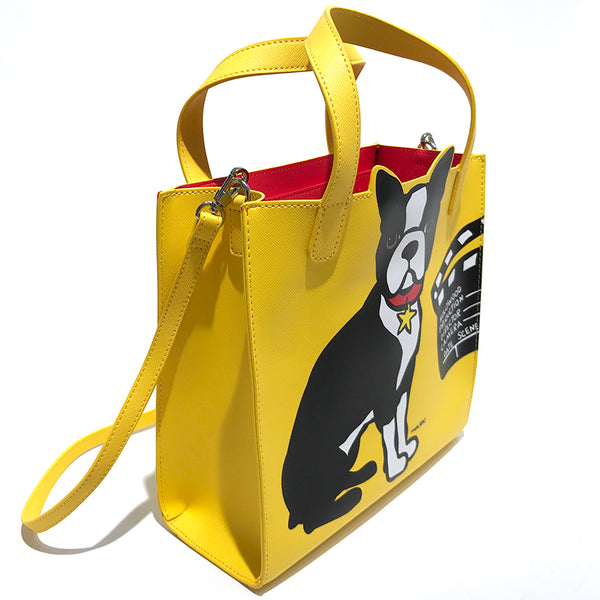 SALE! Los Angeles Boston Terrier Crossbody