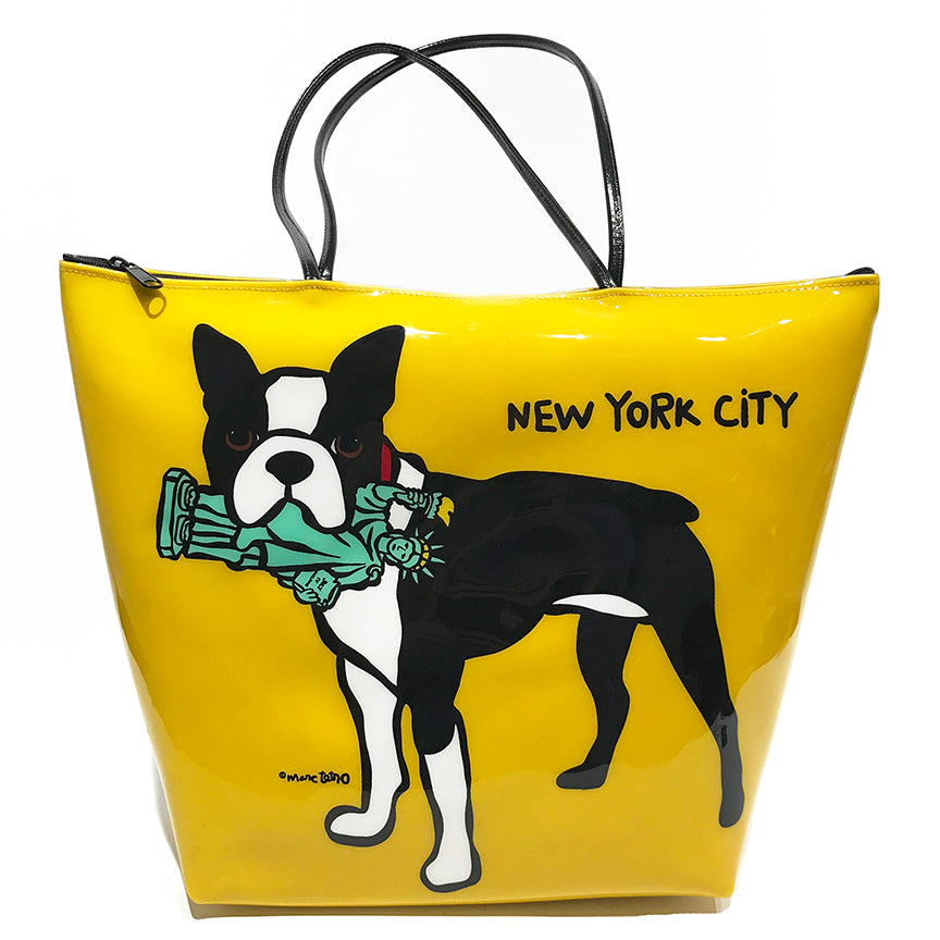 SALE! NYC Boston Terrier Bag
