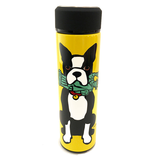NYC Boston Terrier Vacuum Insulated Water Bottle