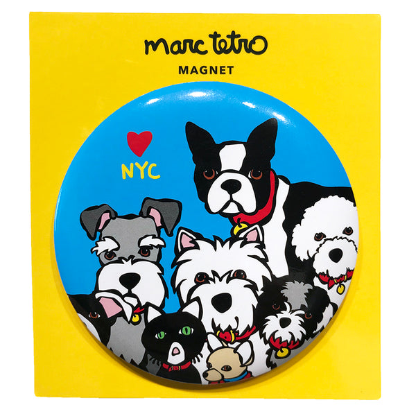 SALE! NYC Dog Group Magnet