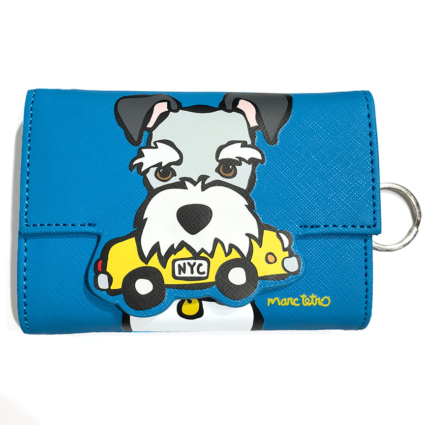 SALE! NYC Schnauzer Coin Wallet