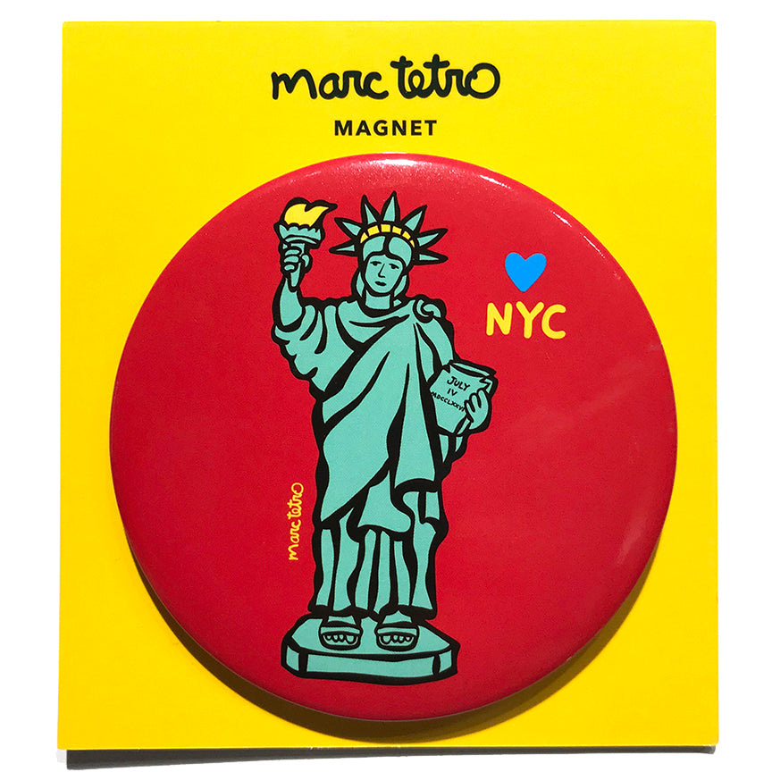 NYC Statue of Liberty Magnet
