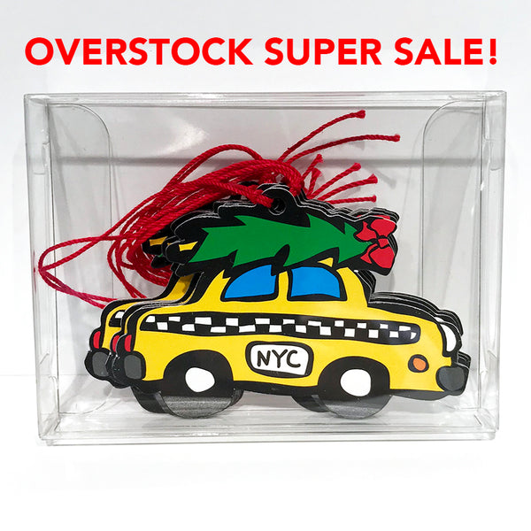 SALE! NYC Taxi Gift Tags