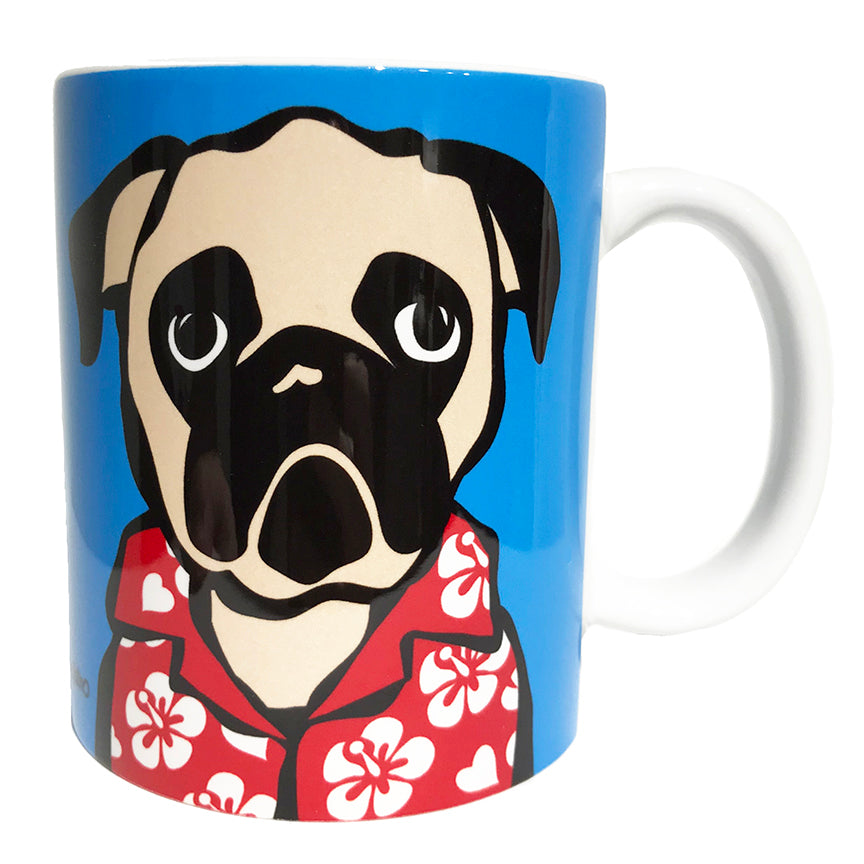 SALE! Pug with Shirt Mug
