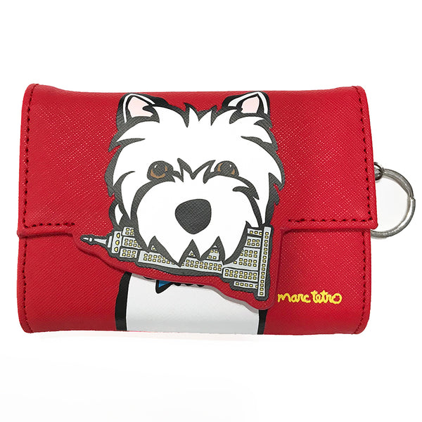 SALE! NYC Westie Coin Wallet
