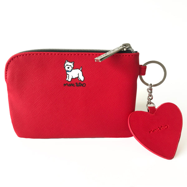 SALE! Westie Pouch with Dangle