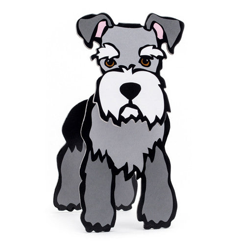 Schnauzer Pop-Out!