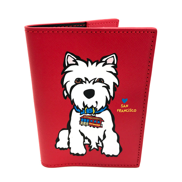 San Francisco Westie Passport Cover